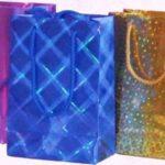 Hologramlı karton çanta örneği