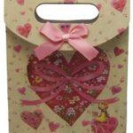 El geçmeli hediyelik karton çanta