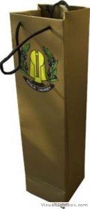 Şişe için karton çanta 1
