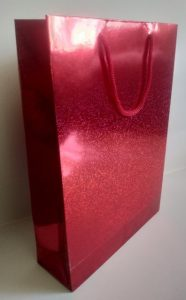 kırmızı karton çanta 1