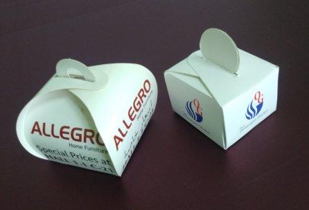 Mevlid Şekeri Kutusu - Tekli Baklava Kutusu