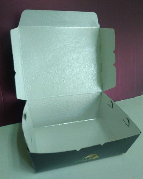 İçi kaplamalı sızdırmaz lokma kutusu