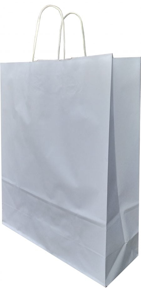 Büküm saplı kağıt poşet