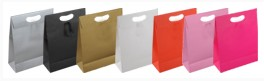 Beyaz sapsız kağıt Poşet 1