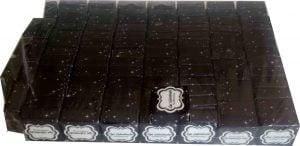 Çeyrek kutusu iyi günlede kullanınız yazılı siyah