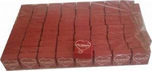 çeyrek altın kutusu kırmızı kalpli 1