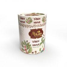 Türk kahvesi silindir kutusu
