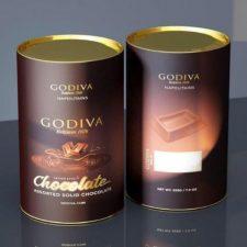 çikolata silindir kutusu
